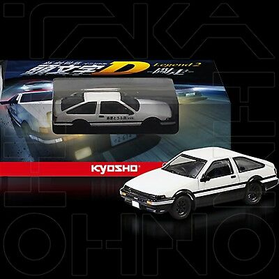Toyota Sprinter Trueno Ae86 Initial D Legend 2 Toso Movie Edition Kyosho 1:64