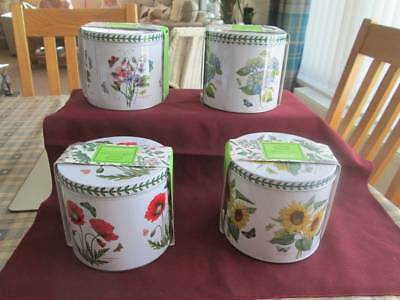 Portmeirion Botanic Garden Mugs In A Presentation Tin All New