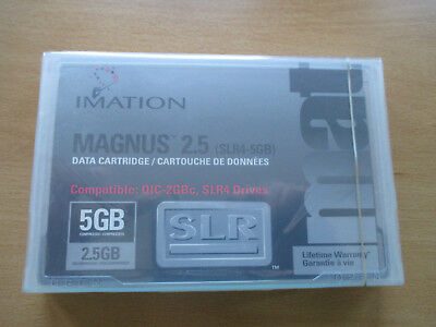 Imation Magnus 2.5 2.5/ 5GB 46168 SLR Data Cartridge Tape neu mit OVP