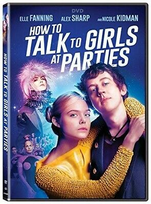 How To Talk To Girls At Parties (2018, DVD NIEUW)