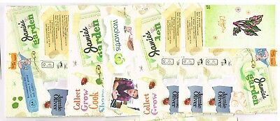 Woolworths JAMIE OLIVER Collectors STICKER/ Cards 16 X OPEN & UNOPEN