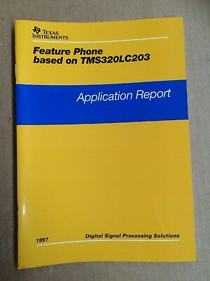 Buch Texas Instruments - Feature Phone based on TMS320LC203 - 1997
