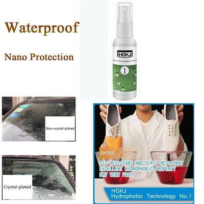 HGKJ Nano Coating Hydrophobic Coating Glass Cloth Shoes Waterproof Agent spray