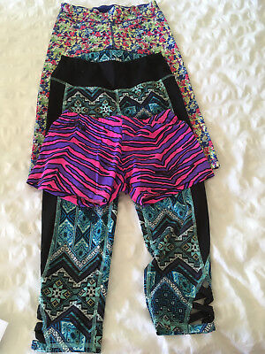 Girls fitness shorts and leggings. Age 12-13 yrs