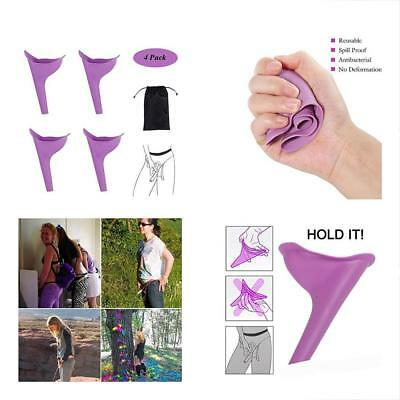 Female Urination Device, Women Lady Portable Urinal Camping Travel Urine Funnel