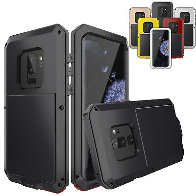 360 Full Body Shockproof Aluminum Metal Case Cover For Samsung Galaxy S8 S9 Plus