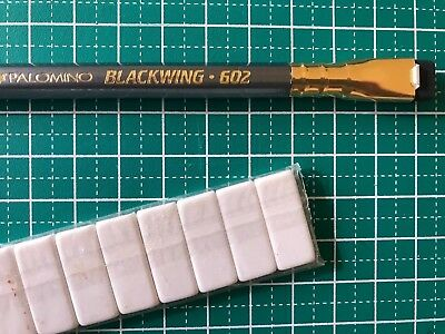 Palomino Blackwing pencil 602 - one of the classics + erasers
