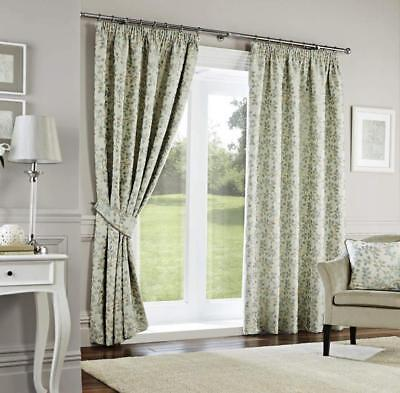 Dreams n Drapes Curtina - Tende foderate Oakhurst, 46 x 54 cm, colore: carta...