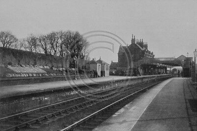 Photo 6x4 Dunbar Station View From The North East Lothian 1946
