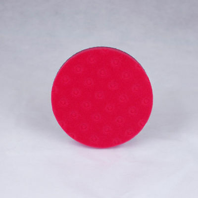 Lake Country - Red CCS Foam 140mm (5.5 inch) Ultra Soft Final Finishing Pad