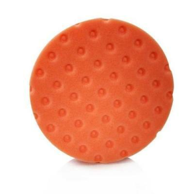 "Lake Country CCS Smart Foam Pad 5.5"" – Orange Light Cutting Pad For DA Polisher"