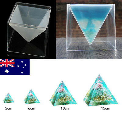 Super Pyramid Silicone Mould Resin Decorative Craft Jewelry Making Mold AU
