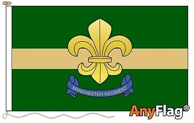 Manchester Regiment Custom Made To Order Various Flag Sizes
