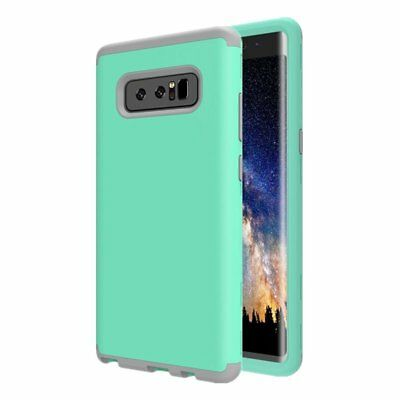 For Galaxy Note 8 Case, Heavy Duty High Impact Resistant Hybrid Hard Back C J4W3