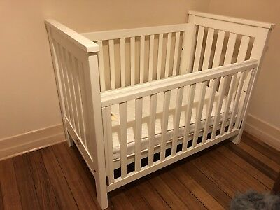 Boori Country Collection Cot - White