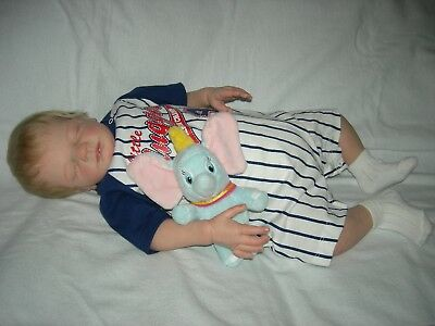 Reborn baby boy Jack by Tina Kewy plus brand new wardrobe and EXTRAS!!