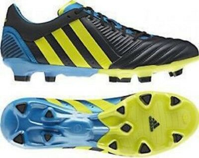 adidas Predator Incurza TR Firm Ground Mens Rugby Boots - Black RRP £164.99 #M26