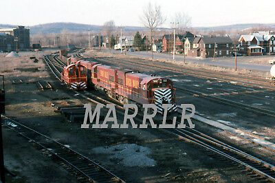 RR Print-Lehigh Valley LV 502 at Sayre Pa 4/2/1975