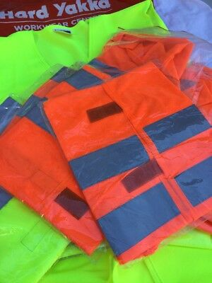 HI VIS SAFETY VESTS ( 32 Set  ) BULK LOT WORKWEAR SALE
