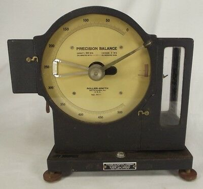 industrial scale  SMITH-ROLLER APOTHECARY balance PERFECT DISPLAY PIECE! usa