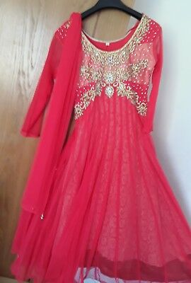 bollywood wedding / party outfits size 32