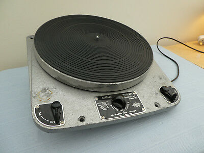 Garrard 301 Turntable ** ULTRA EARLY SERIAL NUMBER 874 ** With Manual and Papers