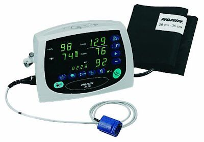 NEW Nonin Avant 2120 Blood Pressure Digital Pulse Oximeter Monitor NIBP RRP£1689