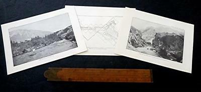 1896 PROVO RV UTAH guaging station &  devils gate weber river PRIOR TO DAM ?