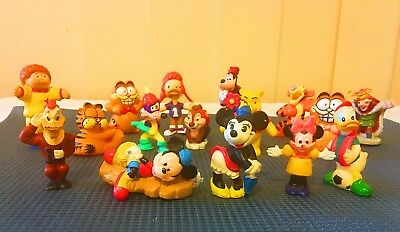 16PCs Vintage Disney Figurines Toys Bulk Lot