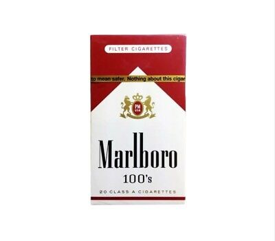 Brand New Unopened Marlboro Red 100's Pack!