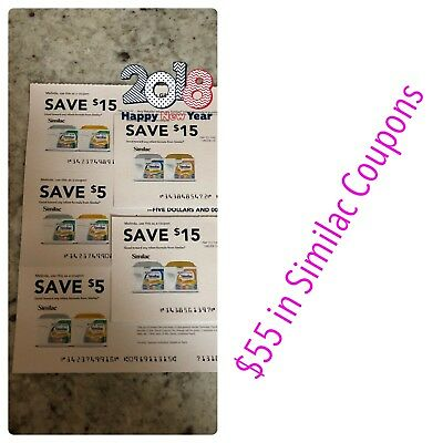 $55 in Similac Infant Formula with Expiration of 9/27/18 & 10/11/18
