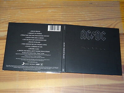 Ac/dc - Back In Black / Digipack-Cd 2003 Mint-