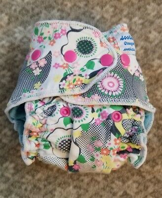 Soothebaby fitted cloth diaper One Size nighttime