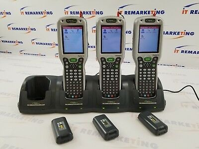 lot of (3x) Handheld Dolphin 9500 Pocket PC Dolphin 9500L00 w/ Docking Station