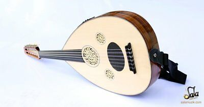 Turkish Professional Left Hand Electric Oud Ud String Instrument OUDE 4L