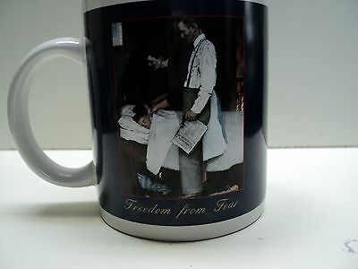 Norman Rockwell Saturday Evening Post Freedom From Fear Coffee Mug