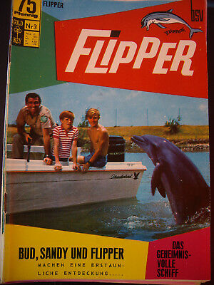 GOLD - EEY FLIPPER Nr.3 BUD, SANDY und Flipper