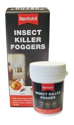 Rentokil - Insect Killer Foggers - Twin Pack