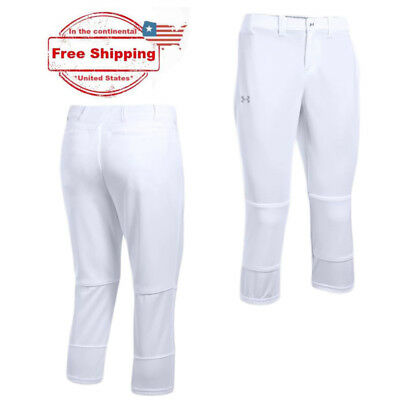 UA Women's Under Armour White Softball Pant (Small, Large, XL), BUY TWO SAVE $$$