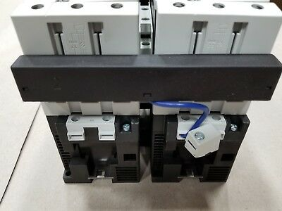 Siemens 3RA13 44-8XB30-1BB4 Motor Contactor Assembly 24VDC Rated Control Supply