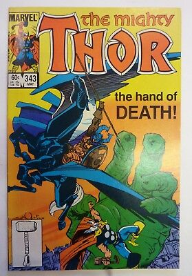 The Mighty Thor 343 Marvel Fine/VF/NM Condition Modern Age