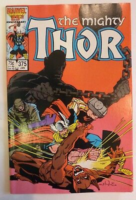 The Mighty Thor 375 Marvel Fine/VF/NM Condition Modern Age