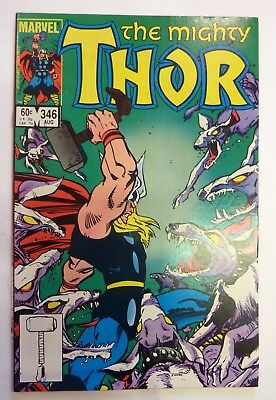 The Mighty Thor 346 Marvel Fine/VF/NM Condition Modern Age