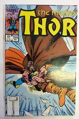 The Mighty Thor 355 Marvel Fine/VF/NM Condition Modern Age