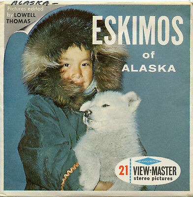 Eskimos of Alaska - Classic ViewMaster - 3 Reel Packet - A102-S6