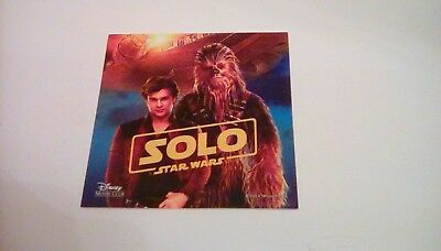 Star Wars SOLO removable decal DMC
