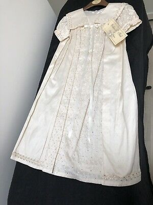 BNWT Collins & Hall Christening Dress/Gown Beautiful Heirloom Collection 6m Apx