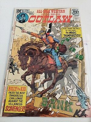 All-Star Western #8 (DC Comics, Nov. 1971) Billy the Kid Outlaw GD