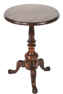 Victorian Mahogany Tripod Table - FREE Shipping [PL4577]