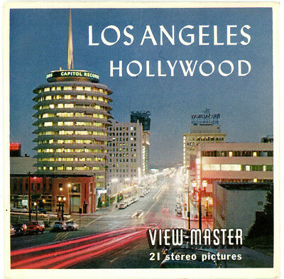 Los Angeles-Hollywood - Classic ViewMaster - 3 Reel Packet - A181-S5